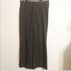 Gap Stretch Trouser Brown Long Career Pants